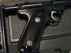 P1010584 (StellaCotton) Tags: 2 training magazine 22 gun mark clip 2nd ii pistol target mk2 shooting practice handgun mkii firearm amendment sturm ruger labe molon 22lr