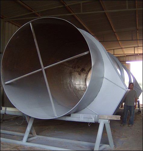 "90"" O.D. Duct Work for an Ammonia Plant"