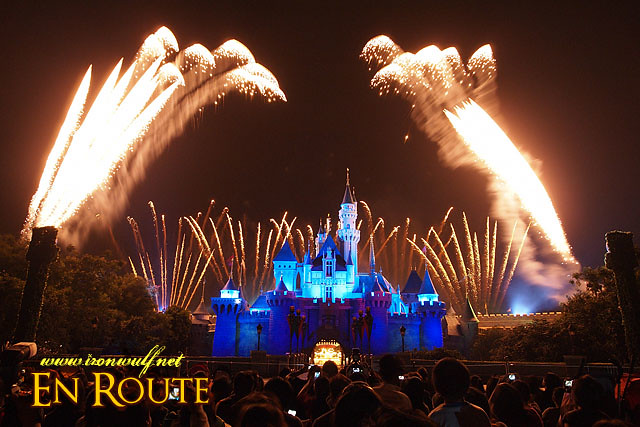 Hong Kong Disneyland Sleeping Beauty Castle Fireworks
