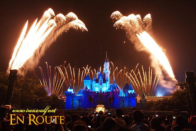 Hong Kong Disneyland Sleeping Beauty Castle Fireworks