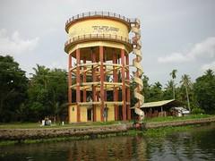 Alapuzha Water tower (Jason Rosenberg) Tags: india watertower staircase alapuzha