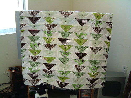 Green Quilt Front