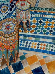 "Moroccan Mosaic • <a style=""font-size:0.8em;"" href=""https://www.flickr.com/photos/78624443@N00/549721371/"" target=""_blank"">View on Flickr</a>"
