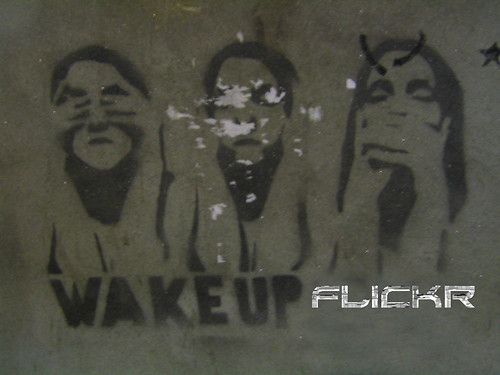 wake up flickr or censure
