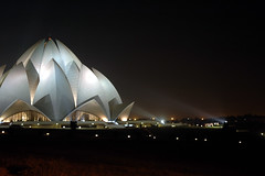 Lotus Temple in White Light - by ~FreeBirD®~
