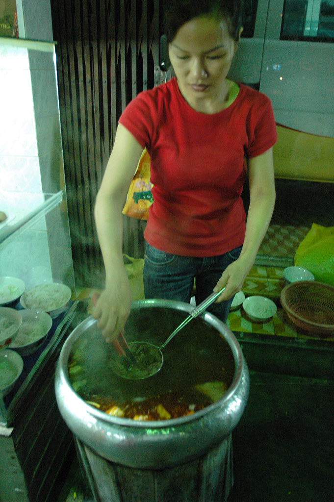 Beef Noodles, Streetfood in Hue
