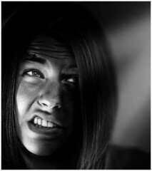 Wrong emotions. (Domen Colja) Tags: portrait people closeup canon raw best slovenija favourite 550ex 2b koper speedlite 430ex ste2 10faves strobist 400d p1f1 infinestyle colja ysplix artisticfaves