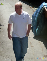 My Builders 0606 - Craig the electrician (marmaset) Tags: man male cardiff crescent worker electrician