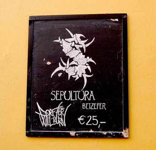 Sepultura na Europa Tour 2007 4