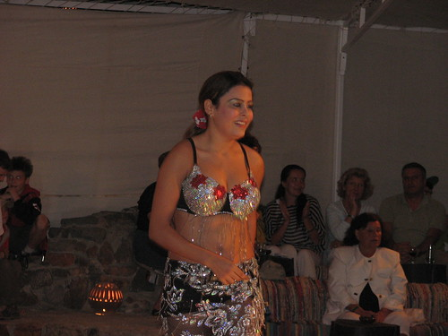Egyptian Belly Dancer performing in Hurghada