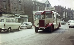 King's Road, Harrogate, 1972 (Lady Wulfrun) Tags: bus classic ford public buses vintage austin capri coach taxi centre rally transport mini transit corsair vehicle van trans harrogate 1972 imp pennine 1950 hillman agents leyland kingsroad rallies ribble duple standerwick ts7 howdens