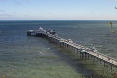 Llandudno Pier (chicagogeek) Tags: wales bay coast pier britain llandudno conwy seasideresort irishsea northwales gradeiilistedbuilding longestinwales pieroftheyear