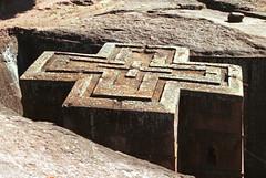 Lalibela rock church - klik om naar de Ethiopië foto's te gaan