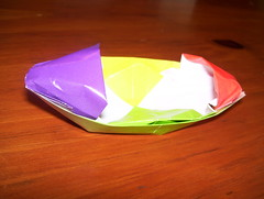 Boat (ferretboy02) Tags: paper origami paperfolding