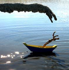 woody drifts a little too close... (sandcastlematt) Tags: sculpture castle beach toys boat sand massachusetts woody sandcastle sandsculpture toyboat sandhand bostonist duxbury ididnttakethisphoto duxburybeach universalhub adventuresofwoody thanksadam submergedsandmonster