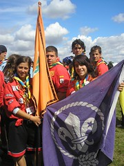 089 Jamboree UK - Ceremonia de inaguracion