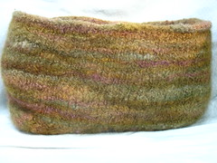 handspun felted bag/basket?