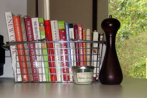 A few of my cookbooks