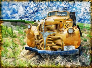 Yellow Dodge