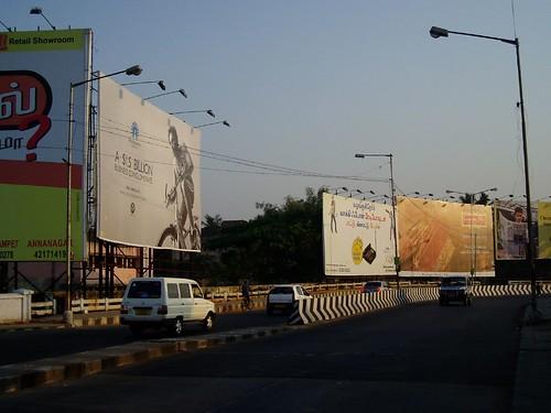Chennai - Hoarding city