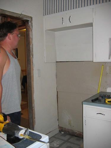 Refrigerator gap