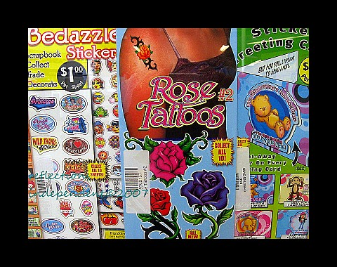 Rose Tattoos. Temporary Tattoos