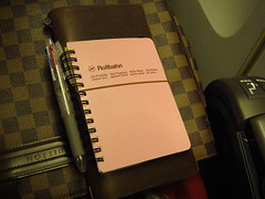Rollbahn + Traveler's Notebook