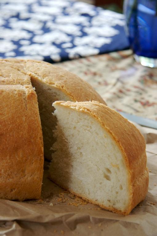 Round Balkan Bread