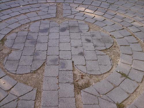 Labyrinth at OSU's Chadwick Arboretum
