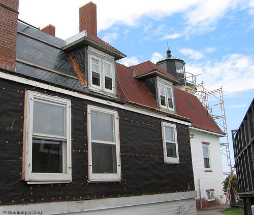 Point Betsie Lighthouse rehab-10