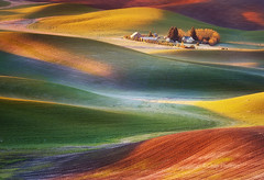 Frosty Morning-Palouse (Chip Phillips) Tags: sunrise washington spring frost butte searchthebest state northwest frosty hills agriculture inland rolling palouse steptoe colorphotoaward bratanesque saariysqualitypictures