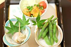 Sea snail, Edamame, Fried Bean Curd, Tatsuya, Goodwood Hotel