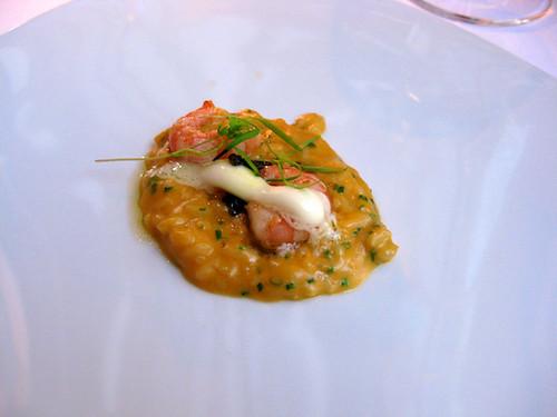 risotto with sea urchin & caviar