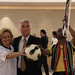 Diplomats at UN Celebrate World Cup Kickoff