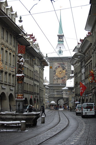 Bern's main street, Switzerland