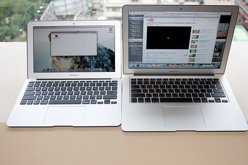 2010 新款MacBook Air 11.6 vs 13.3
