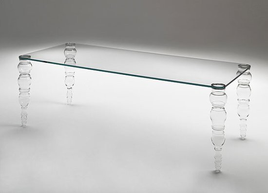 Gorgeous Glass Dining Table
