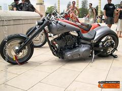 Moto Harley Davidson bike show