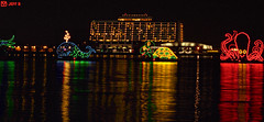 The Electrical Water Pageant on the Seven Seas Lagoon (Jeff_B.) Tags: disneyworld sevenseaslagoon electricalwaterpageant contemporaryhote