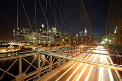 brooklyn bridge (photos_mweber) Tags: newyorkcity newyork brooklybridge brooklynbridgenight