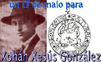 Un dezasete de maio para Xohán Xesús González!