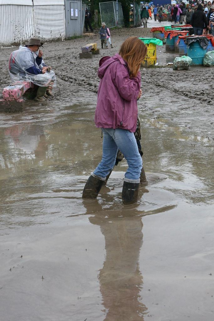 Opinion glastonbury mud girl