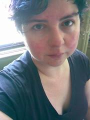 heartbroken (242 of 365) (yarnivore) Tags: morning selfportrait phonecam crying honest miserable heartbroken bereft 365days