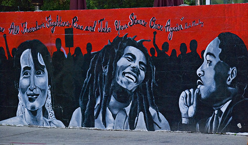 Marley, MLK and Aung San Suu Kyi