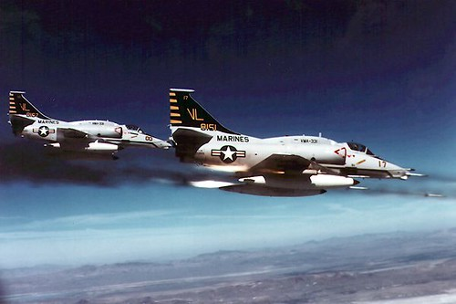 A-4 SkyHawk fighter plane