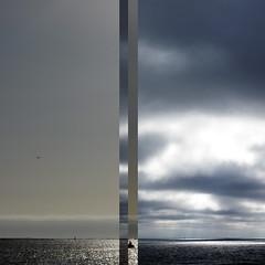 A forza das mareaS (abedoporto) Tags: mar cielo cadiz contradiction cambados diptico marieiro combinando abedoporto