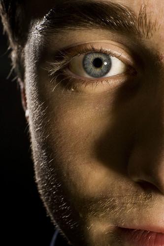 Daniel Radcliffe ojo mirada derecha