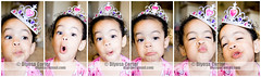 She takes her title seriously (diyosa) Tags: faces princess mosaic naturallight ham crown 3years sillyface