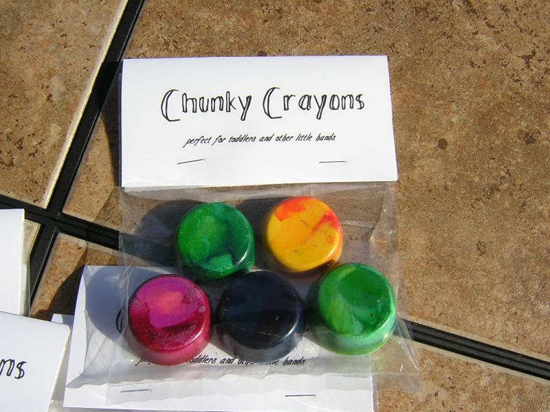 Chunky Crayons 2
