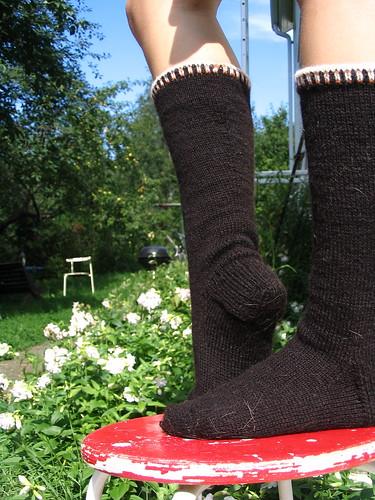 eränaisen sukat